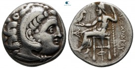 Kings of Macedon. Kolophon. Antigonos I Monophthalmos 320-301 BC. In the name and types of Alexander III. Struck circa 310-301 B. Drachm AR