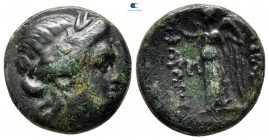 Kings of Thrace. Kabyle mint. Kavaros 230-218 BC. Bronze Æ