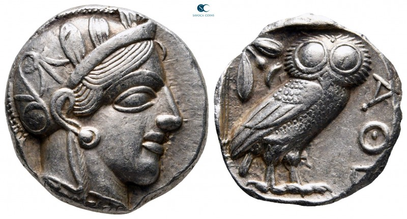 Attica. Athens circa 454-404 BC. 
