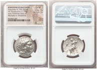 MACEDONIAN KINGDOM. Alexander III the Great (336-323 BC). AR tetradrachm (25mm, 17.14 gm, 11h). NGC Choice VF 5/5 - 3/5. Early Ptolemaic issue of Memp...