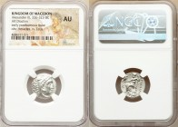 MACEDONIAN KINGDOM. Alexander III the Great (336-323 BC). AR drachm (18mm, 1h). NGC AU. Posthumous issue of 'Colophon', 310-301 BC. Head of Heracles r...