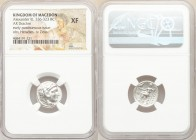 MACEDONIAN KINGDOM. Alexander III the Great (336-323 BC). AR drachm (16mm, 1h). NGC XF. Early posthumous issue of Miletus, ca. 323-319 BC. Head of Her...