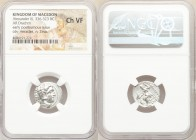 MACEDONIAN KINGDOM. Alexander III the Great (336-323 BC). AR drachm (18mm, 11h). NGC Choice VF. Posthumous issue of 'Colophon', ca. 310-301 BC. Head o...