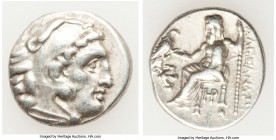 MACEDONIAN KINGDOM. Alexander III the Great (336-323 BC). AR drachm (18mm, 4.31 gm, 4h). VF. Posthumous issue of Lampsacus, ca. 320-305 BC. Head of He...
