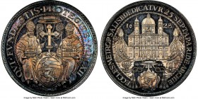 Salzburg. Paris von Lodron Restrike 1/2 Taler 1628-Dated (1928) MS65 NGC, KM141. The first of these restrike issues we have encountered, featuring an ...