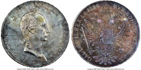 Franz II (I) Taler 1826-C MS62 NGC, Prague mint, KM2163. Charmingly toned and highly original, and a type which is quite difficult to locate as such. ...