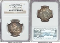 Leopold I silver Proof Restrike 5 Centimes 1833 PR67 NGC, Bogaert-45B2. Plain edge. A needle-sharp restrike revealing hints of cabernet and silver ton...