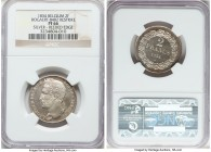 Leopold I silver Proof Restrike 2 Francs 1834 PR66 NGC, Bogaert-84B1. Reeded edge. Exceedingly fresh and clearly struck from heavily polished dies. Mi...