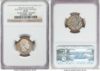 Leopold I silver Proof Restrike 20 Francs 1865 PR65 NGC, Bogaert-923B1. Plain edge. An exceedingly frosty selection within this restruck series, the d...