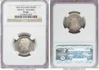 Leopold II silver Proof Restrike Franc 1866 PR66 NGC, Bogaert-1038B2. Finely reeded edge. Ideally struck and pristinely preserved, we note that it app...