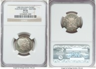 "Leopold II silver Proof Restrike ""Independence"" Franc 1880 PR65 NGC, Bogaert-1220B2. Reeded edge. Sharply struck, with ample field reflectivity and no..."