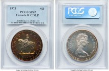 Victoria Specimen Dollar 1973 SP67 PCGS, Royal Canadian mint, KM83. Colorfully toned and carefully preserved.   HID09801242017  © 2020 Heritage Auctio...