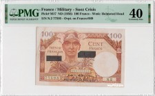 France [#M17, XF] 100 francs Suez Type 1956