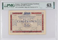 France [#R6, UNC] 5 francs RCFTO Type 1923