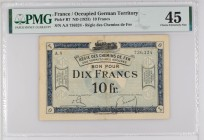 France [#R7, XF+] 10 francs RCFTO Type 1923