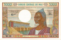 Mali [#13, GEM] 1000 francs Type 1970
