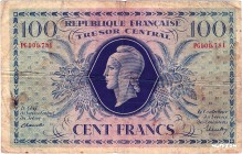France [#105, F] 100 francs Marianne Type 1943