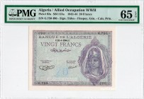 Algeria [#92, GEM] 20 francs Type 1943