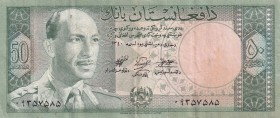 Afghanistan, 50 Afghanis, 1961, XF, p39a