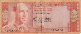 Afghanistan, 500 Afghanis, 1961, FINE, p40A