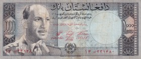Afghanistan, 1.000 Afghanis, 1963, VF, p42b