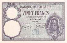 Algeria, 20 Francs, 1928, UNC, p78