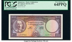 Afghanistan Bank of Afghanistan 100 Afghanis ND (1957) / SH1336 Pick 34d PCGS Very Choice New 64PPQ.   HID09801242017  © 2020 Heritage Auctions | All ...