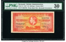 Bermuda Bermuda Government 10 Shillings 17.2.1947 Pick 15 PMG Very Fine 30.   HID09801242017  © 2020 Heritage Auctions | All Rights Reserved