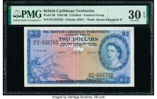 British Caribbean Territories Currency Board 2 Dollars 1.7.1960 Pick 8b PMG Very Fine 30 EPQ.   HID09801242017  © 2020 Heritage Auctions | All Rights ...