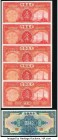 China Group of 6 Examples Choice Uncirculated.   HID09801242017  © 2020 Heritage Auctions | All Rights Reserved