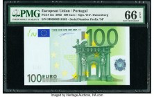 European Union Central Bank, Portugal 100 Euro 2002 Pick 5m PMG Gem Uncirculated 66 EPQ.   HID09801242017  © 2020 Heritage Auctions | All Rights Reser...