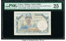 France Tresor Public 5 Nouveaux Francs on 500 Francs ND (1960) Pick M14 PMG Very Fine 25.   HID09801242017  © 2020 Heritage Auctions | All Rights Rese...