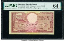 Indonesia Bank Indonesia 50 Rupiah ND (1957) Pick 50 PMG Choice Uncirculated 64.   HID09801242017  © 2020 Heritage Auctions | All Rights Reserved