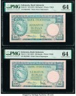 Indonesia Bank Indonesia 100 Rupiah ND (1957) Pick 51 PMG Choice Uncirculated 64 (2).   HID09801242017  © 2020 Heritage Auctions | All Rights Reserved...