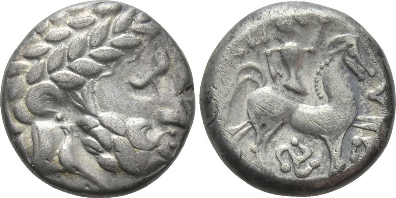 EASTERN EUROPE. Imitations of Philip II of Macedon (3rd-2nd centuries BC). Tetra...