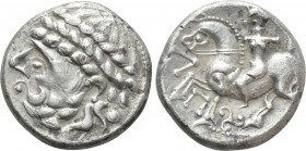 EASTERN EUROPE. Imitations of Philip II of Macedon (2nd century BC). Tetradrachm. Zopfreiter type.