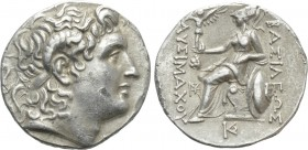 KINGS OF THRACE (Macedonian). Lysimachos (305-281 BC). Tetradrachm. Lysimacheia(?).