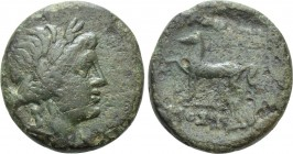KINGS OF THRACE. Mostis (Circa 139/8-101/0 BC). Ae. 