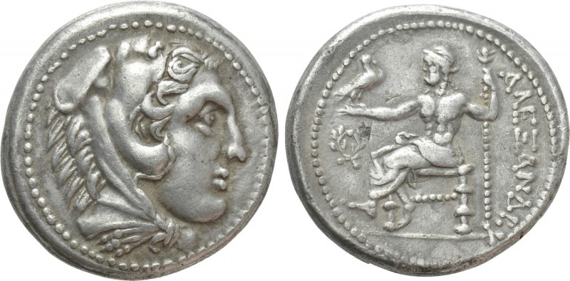 KINGS OF PAEONIA. Audoleon (Circa 315-286 BC). Tetradrachm. Astibos or Damastion...