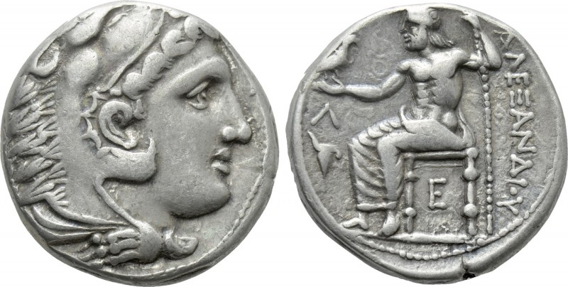 KINGS OF MACEDON. Alexander III 'the Great' (336-323 BC). Tetradrachm. Amphipoli...