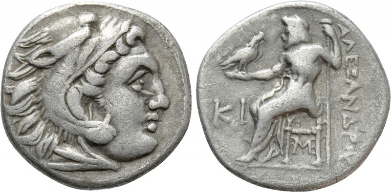 KINGS OF MACEDON. Alexander III 'the Great' (336-323 BC). Drachm. Lampsakos. 