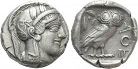 ATTICA. Athens. Tetradrachm (Circa 454-404 BC). 