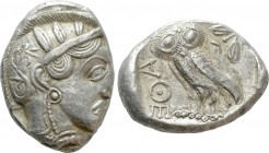 ATTICA. Athens. Tetradrachm (Circa 454-404 BC). Contemporary Imitation.