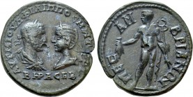THRACE. Mesambria. Philip I 'the Arab', with Otacilia Severa (244-249). Ae. 