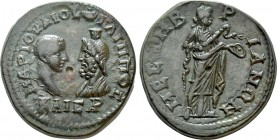 THRACE. Mesambria. Philip II, with Serapis (Caesar, 244-247). Ae. 