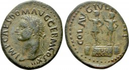 MACEDON. Philippi. Domitian (81-96). Ae. 