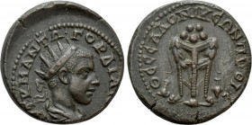 MACEDON. Thessalonica. Gordian III (238-244). Ae. 