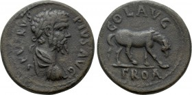 TROAS. Alexandria. Septimius Severus (193-211). As. 