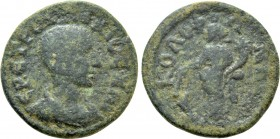 IONIA. Kolophon. Herennius Etruscus (Caesar, 249-251). Ae. 