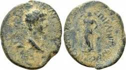 LYDIA. Hierocaesarea. Nero (54-68). Ae. Capito, high priest. 